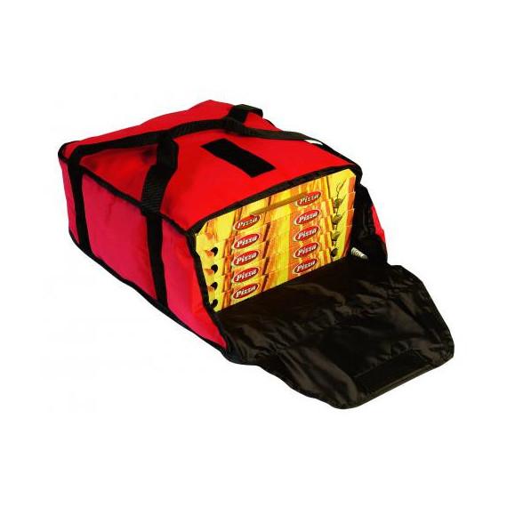 Gimetal borsa termica per trasporto fino a 5 pizze ad alto isolamento cm.36x36 h.17