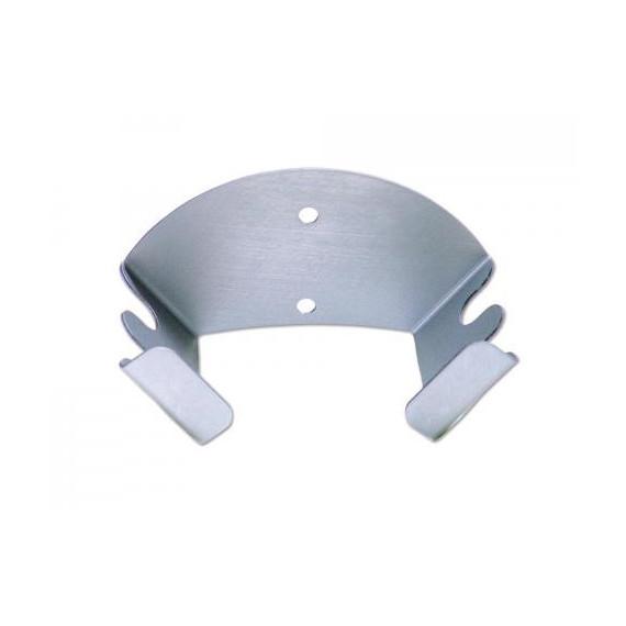 Gimetal supporto appendi pale in alluminio mezzaluna per 2 pale  cm.17,5x9 h.9