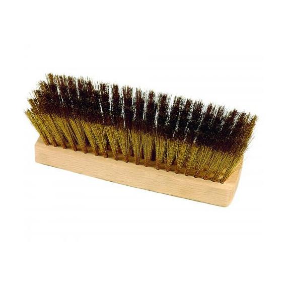 Gimetal ricambio spazzola con setole in ottone cm.20x6 h.7
