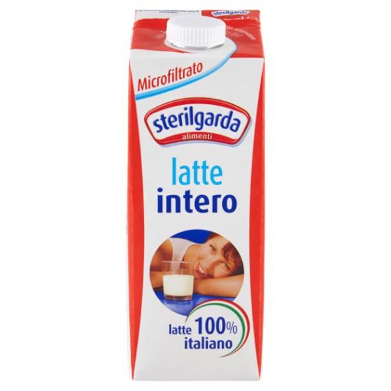 STERILGARDA LATTE INTERO MICROFILTRATO LUNGA CONSERVAZIONE LT.1 CON TAPPO A VITE