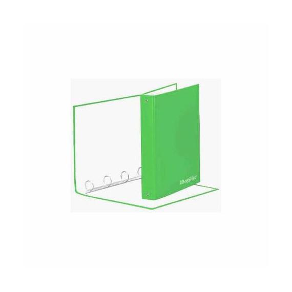 RACCOGLITORE 4 ANELLI H&H VERDE CHIARO CM.26x34