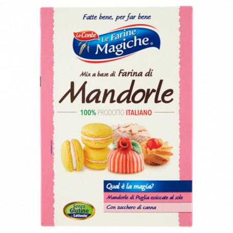 LO CONTE LE FARINE MAGICHE FARINA DI MANDORLE GR.250