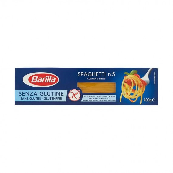 BARILLA SPAGHETTI SENZA GLUTINE GR.400 N.5