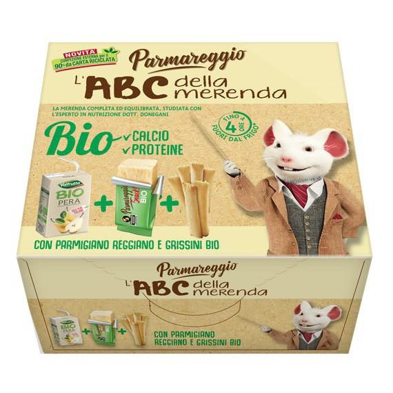 PARMAREGGIO L'ABC DELLA MERENDA BIO