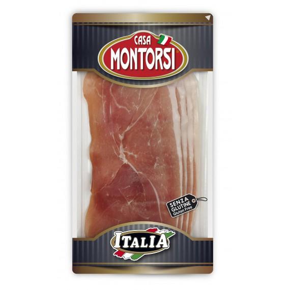 MONTORSI ITALIA PROSCIUTTO CRUDO STAGIONATO DOLCE GR.60