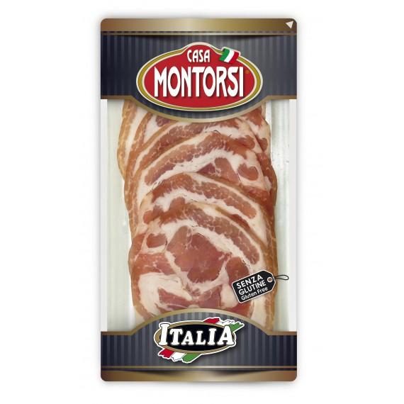 MONTORSI ITALIA PANCETTA ARROTOLATA GR.60