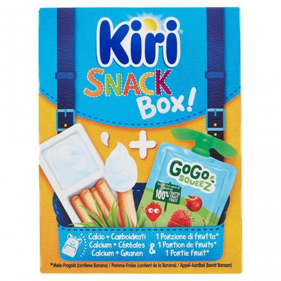 KIRI SNACK BOX KIRI DIPPI + GOGO SQUEEZ 125 GR.