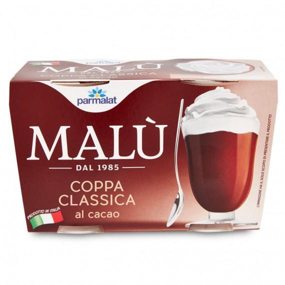 PARMALAT COPPA MALU' CACAO 2X100 GR.