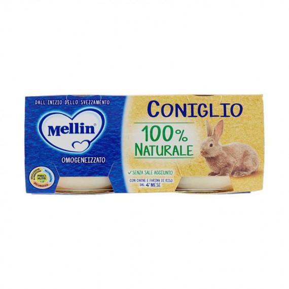 MELLIN OMOGENEIZZATO CONIGLIO 2X80 GR.