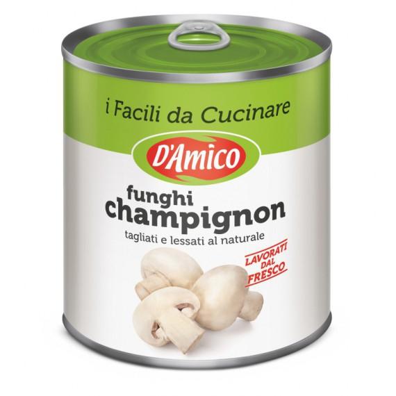 DAMICO FUNGHI CHAMPIGNON TAGLIATI AL NATURALE GR.800