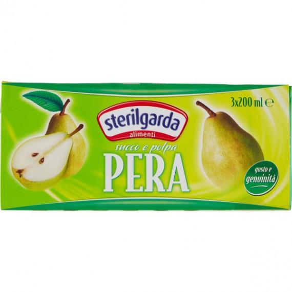 STERILGARDA SUCCHI PERA BRIK 3X200 ML.