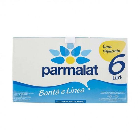PARMALAT BONTA E LINEA LATTE P/S 6X1 LT.