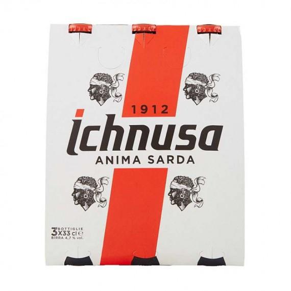 BIRRA ICHNUSA ANIMA SARDA 3X33 CL.