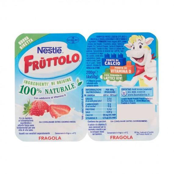 NESTLE FRUTTOLO FRAGOLA 4X50 GR.