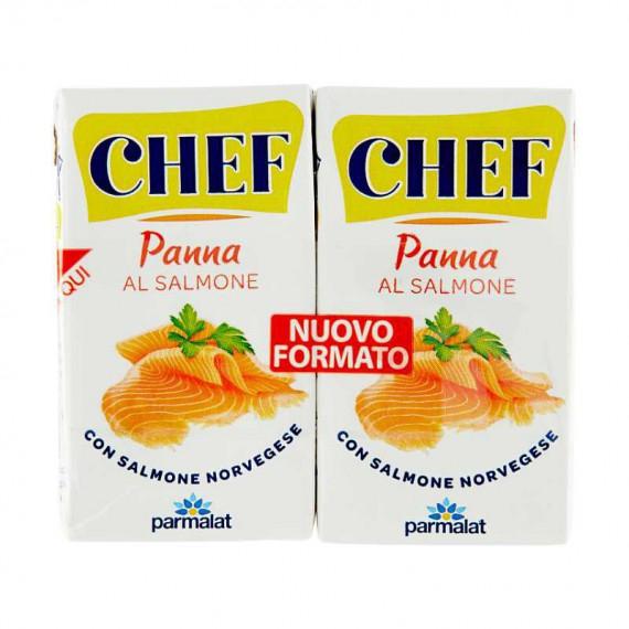 PARMALAT CHEF PANNA DA CUCINA CON SALMONE 2X125 ML.