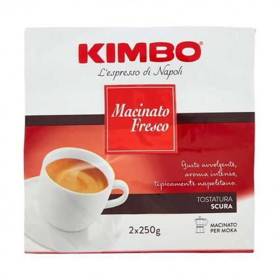 KIMBO CAFFE MACINATO FRESCO DUETTO 2X250
