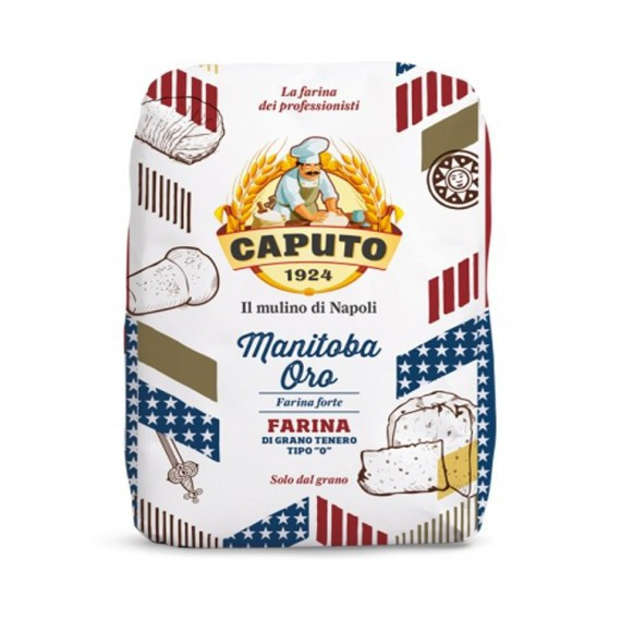 CAPUTO FARINA MANITOBA ORO TIPO 0 KG.5