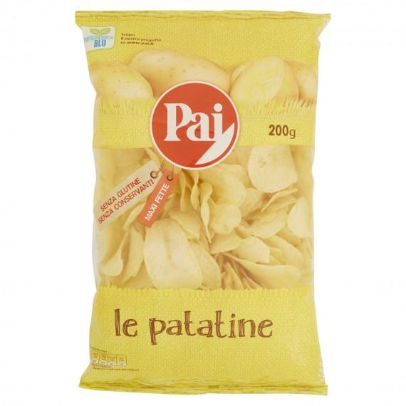 PAI PATATINE CLASSICHE TRASPARENTI GR.200