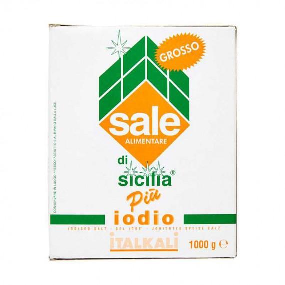 ITALKALI SALE DI SICILIA GROSSO PIU' IODIO KG.1