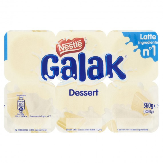 GALAK CREMA DESSERT 6X60 GR.