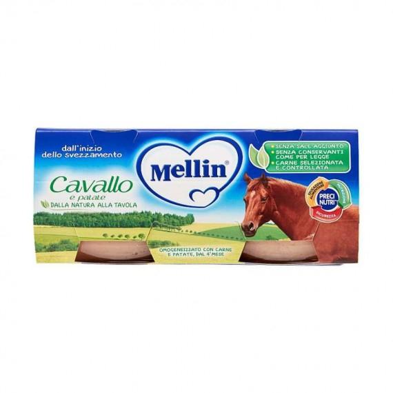 MELLIN OMOGENEIZZATO CAVALLO 2X80 GR.