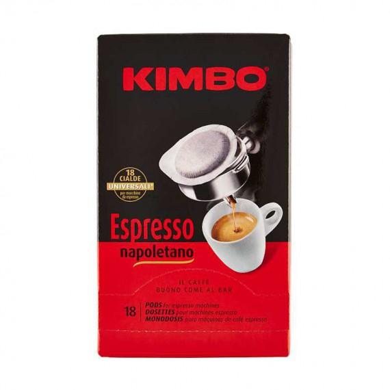 KIMBO CAFFE' ESPRESSO NAPOLETANO IN CIALDE PEZZI 18