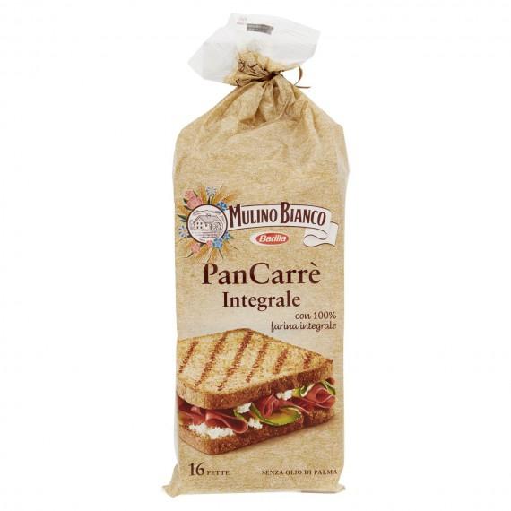 MULINO BIANCO PAN CARRE' INTEGRALE 16 FETTE GR.315