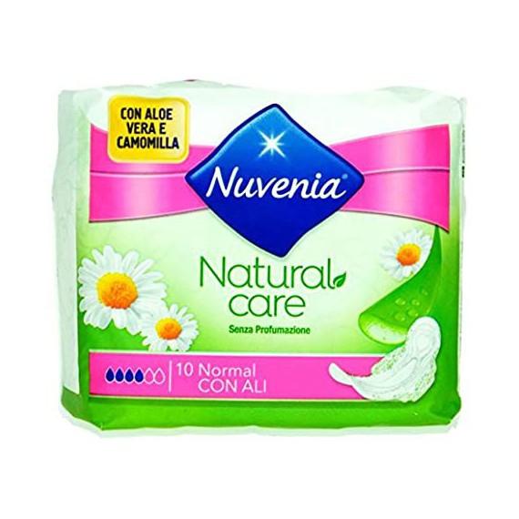 NUVENIA NATURAL CARE ASSORBENTI CON ALI PZ.10