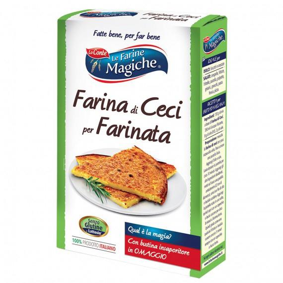 LO CONTE LE FARINE MAGICHE FARINA DI CECI PER FARINATA GR.320
