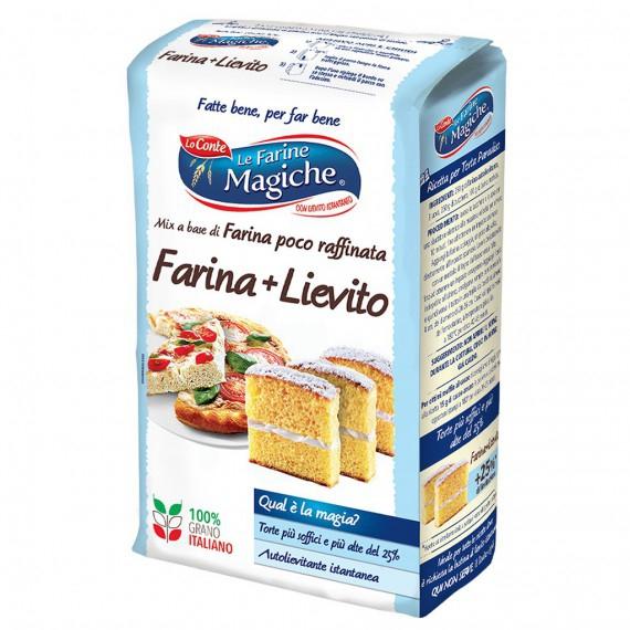LO CONTE FARINA + LIEVITO KG.1