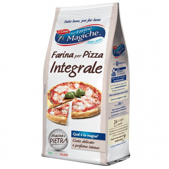 LO CONTE FARINA PIZZA INTEGRALE GR.500