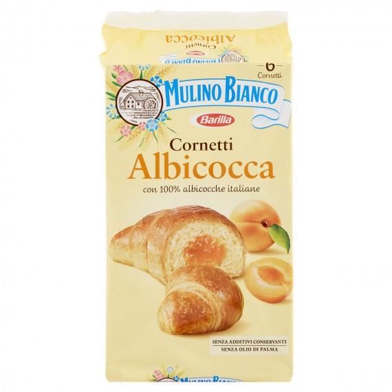 MULINO BIANCO CORNETTI ALBICOCCA 6 PEZZI GR.300