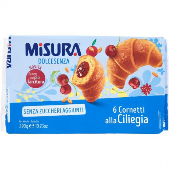 MISURA PRIVOLAT CORNETTI ALLA CILIEGIA GR.290