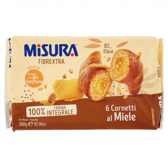 MISURA FIBREXTRA CORNETTI INTEGRALI AL MIELE GR.300