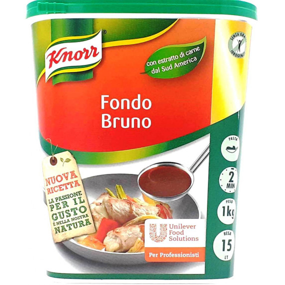 KNORR FONDO BRUNO IN PASTA KG.1