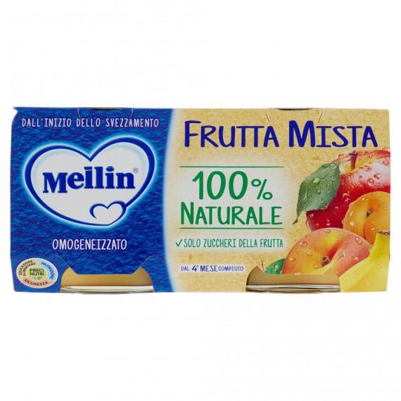 MELLIN OMOGENEIZZATO FRUTTA MISTA 2X100 GR.