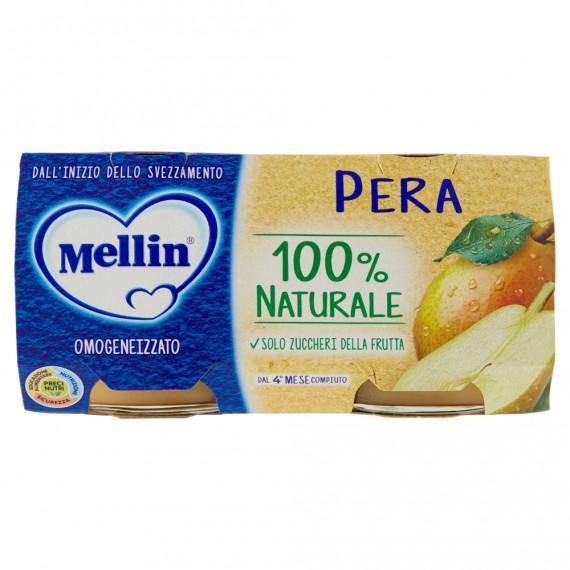 MELLIN OMOGENEIZZATO PERA 2X100 GR.