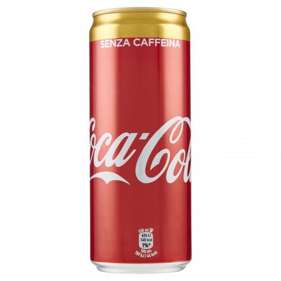 COCA COLA SENZA CAFFEINA LATTINA CL.33