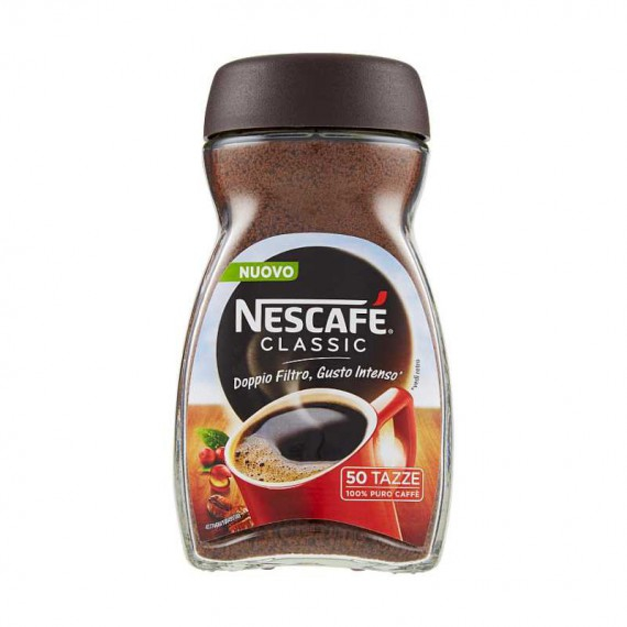 NESCAFE CLASSIC CAFFE' SOLUBILE GR.100