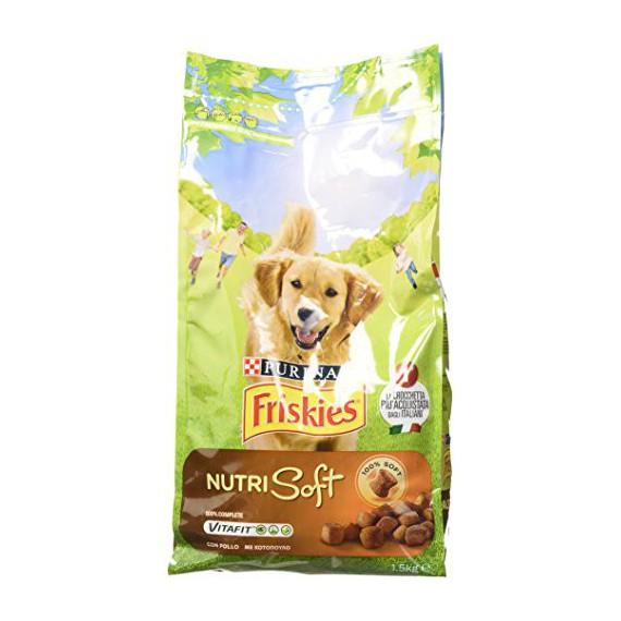 PURINA FRISKIES NUTRI SOFT DOG POLLO KG.1,5