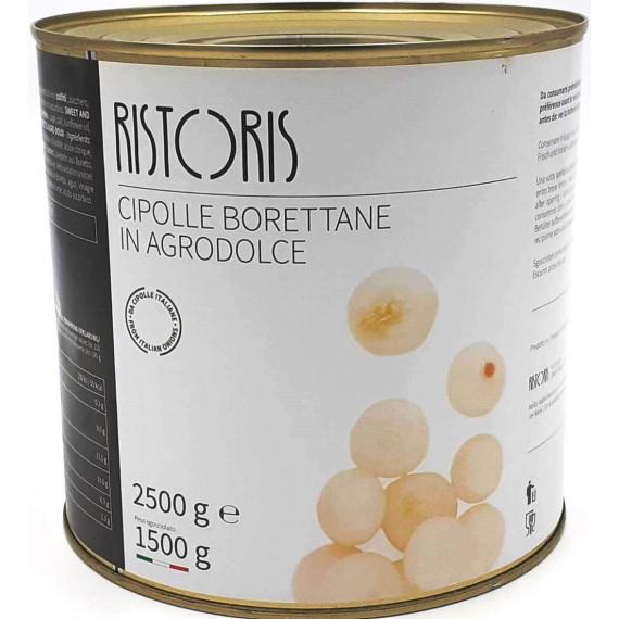 RISTORIS CIPOLLE BORETTANE IN AGRODOLCE KG.2.5