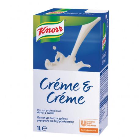RAMA CREME & CREME PANNA VEGETALE LT.1 KNORR