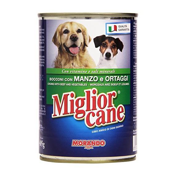 MIGLIOR CANE BOCCONCINI MANZO E ORTAGGI GR.405