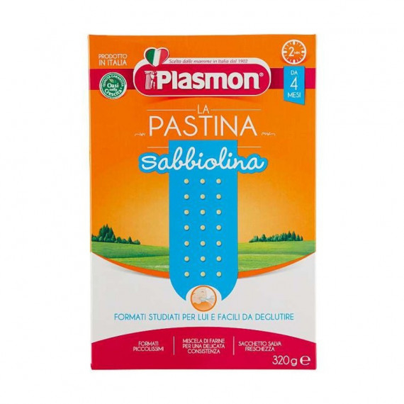 PLASMON LA PASTINA SABBIOLINA GR.320