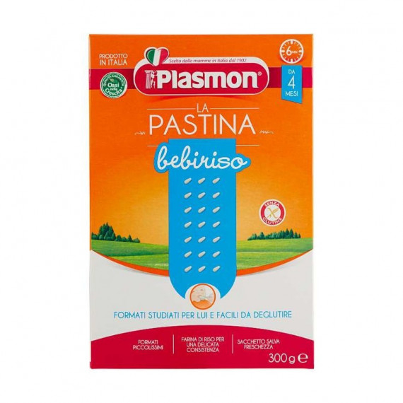 PLASMON LA PASTINA BEBIRISO GR.300
