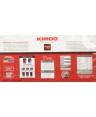 KIMBO CAFFE' MACINATO FRESCO QUARTETTO 4X250