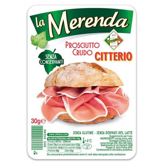 CITTERIO LA MERENDA PROSCIUTTO CRUDO GR.30