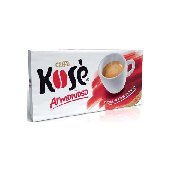 KOSE' CAFFE ARMONIOSO DUETTO 2X250 GR.