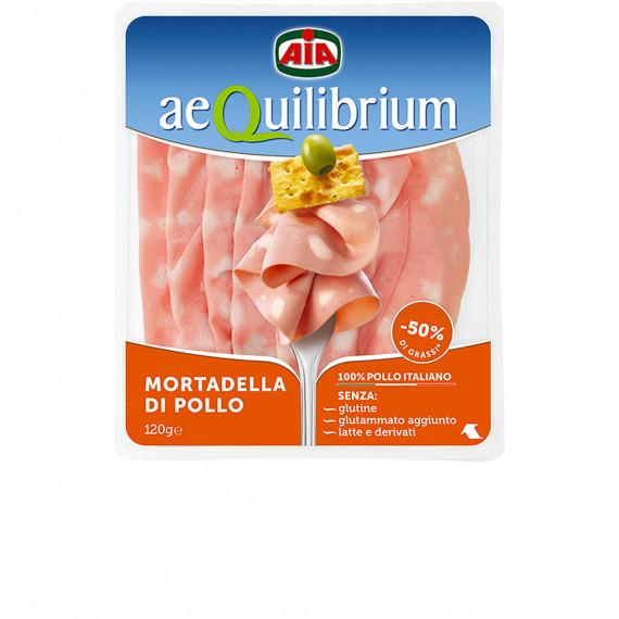 AIA AEQUILIBRIUM MORTADELLA DI POLLO GR.120