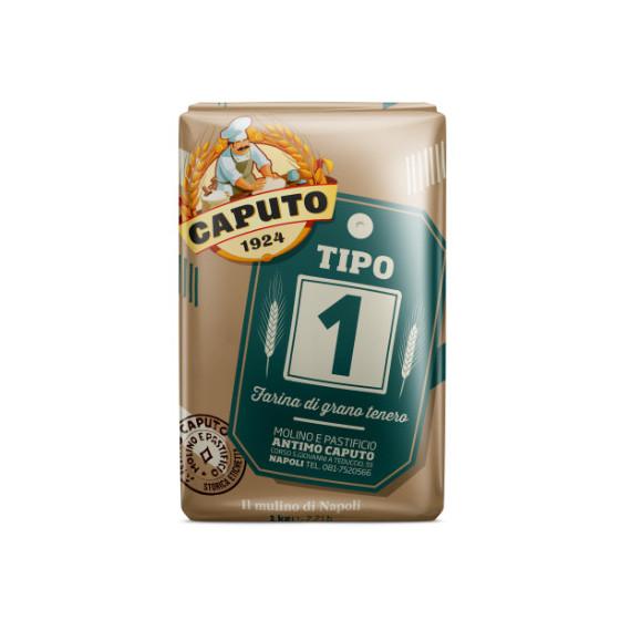 CAPUTO FARINA TIPO 1 ETICHETTA STORICA KG.25